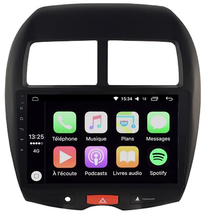 ecran tactile carplay gps waze citro n c4 aircross peugeot 4008. Black Bedroom Furniture Sets. Home Design Ideas