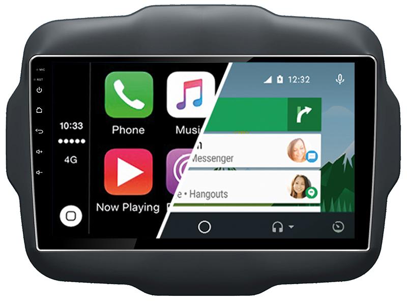 ecran tactile carplay android auto gps waze wifi jeep renegade. Black Bedroom Furniture Sets. Home Design Ideas
