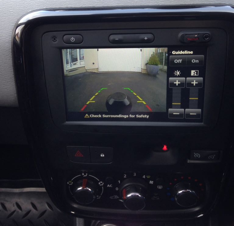 Interface caméra de recul & vidéo Opel Vivaro et Movano avec autoradio MediaNav de 2014 à 2019