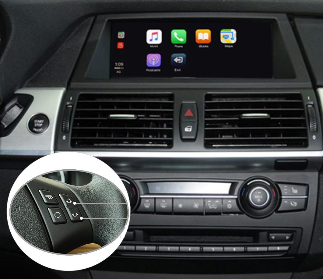 Apple CarPlay Sur Votre BMW X1 E84, X3 F25, X5 E70, X6 E71