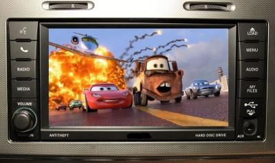Boitier pour débloquer la vidéo en roulant pour Chrysler 300C, Aspen, Sebring et Voyager de 2007 à 2010