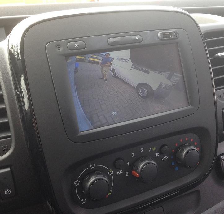 Interface caméra de recul & vidéo Fiat Talento depuis 2016 avec autoradio MediaNav