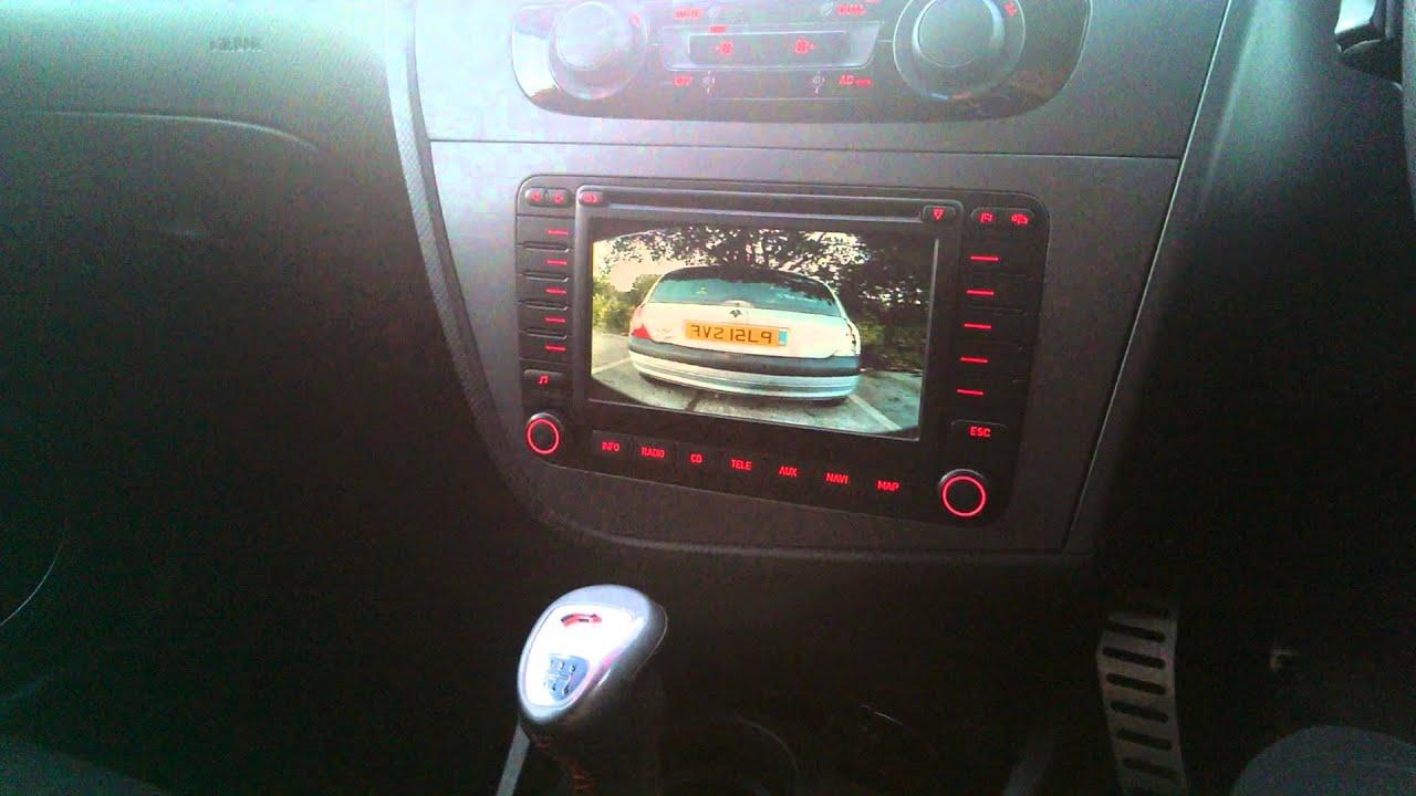 Interface caméra de recul Seat pour autoradio RNS 510, RNS 315 et MFD2