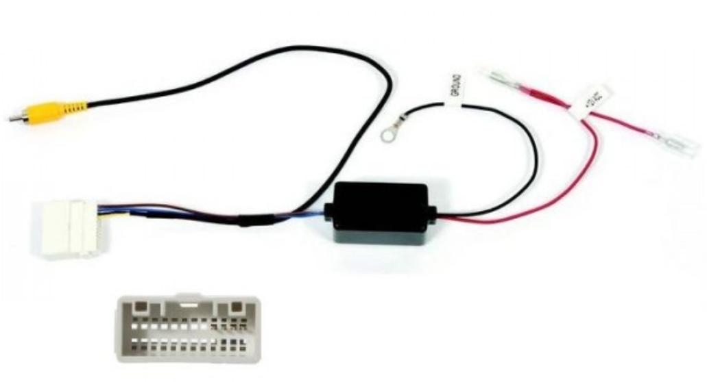 Adaptateur de récupération caméra de recul origine pour Kia Carens de 2013 à 2016 (avec Navigation d\'origine)