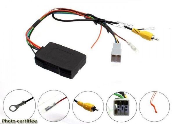 Adaptateur de récupération caméra de recul origine pour Fiat Fullback