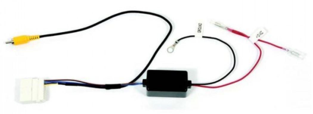 Adaptateur de récupération caméra de recul origine pour Renault Captur, Clio, Trafic et Master avec MediaNav