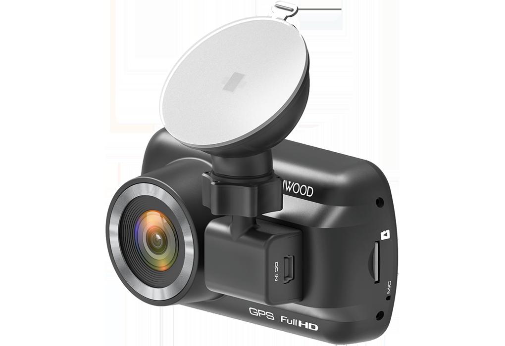 Dashcam avant Kenwood DRV-A201 : Caméra embarquée Full HD, Wi-Fi, accéléromètre 3 axes et GPS intégré