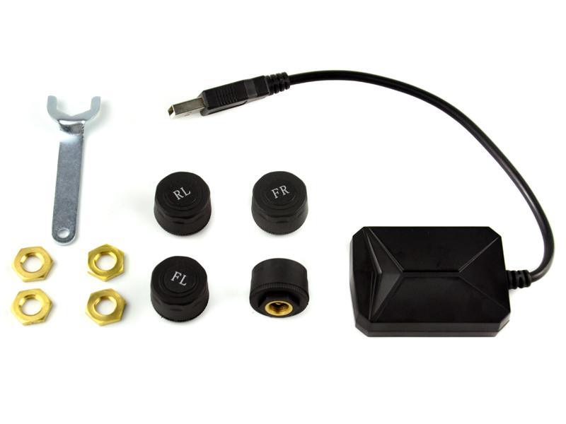 TPMS Capteurs de pression de pneus sans fil pour autoradio Android