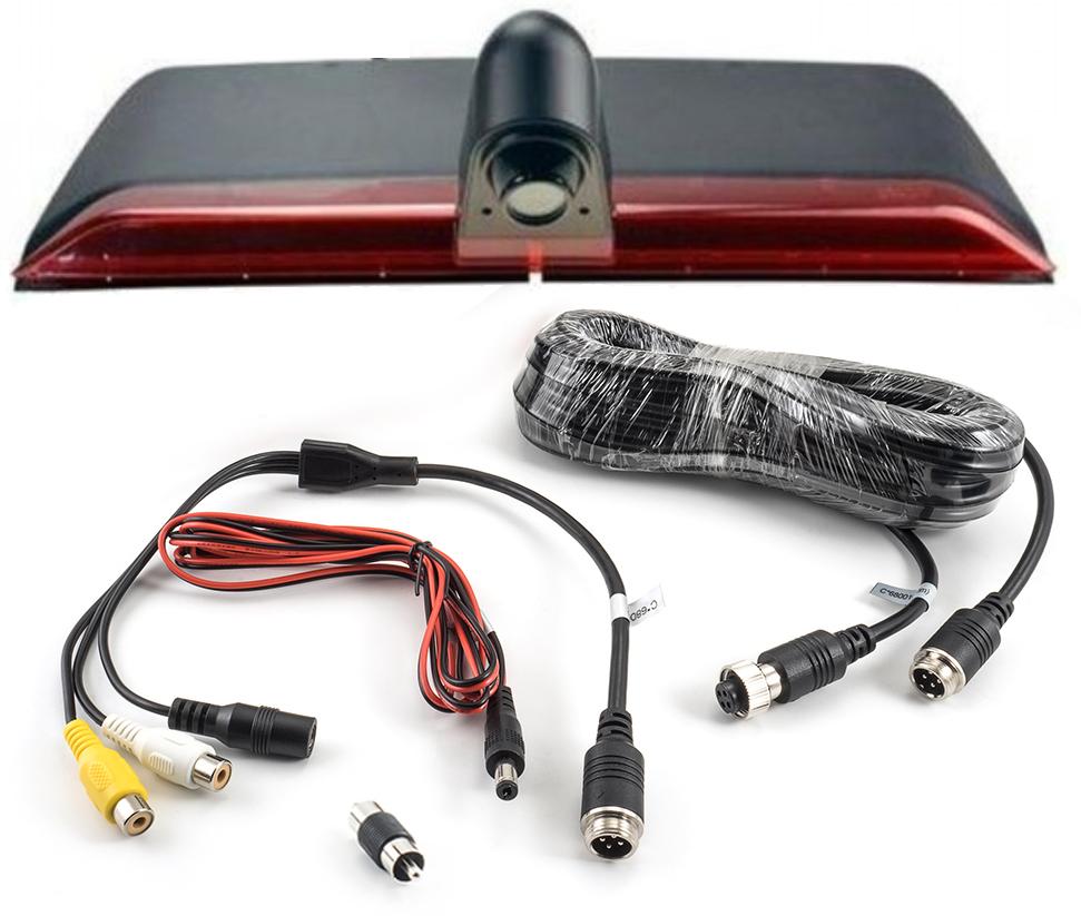 Caméra de recul intégré dans le Feu Stop Mercedes Sprinter depuis 2019