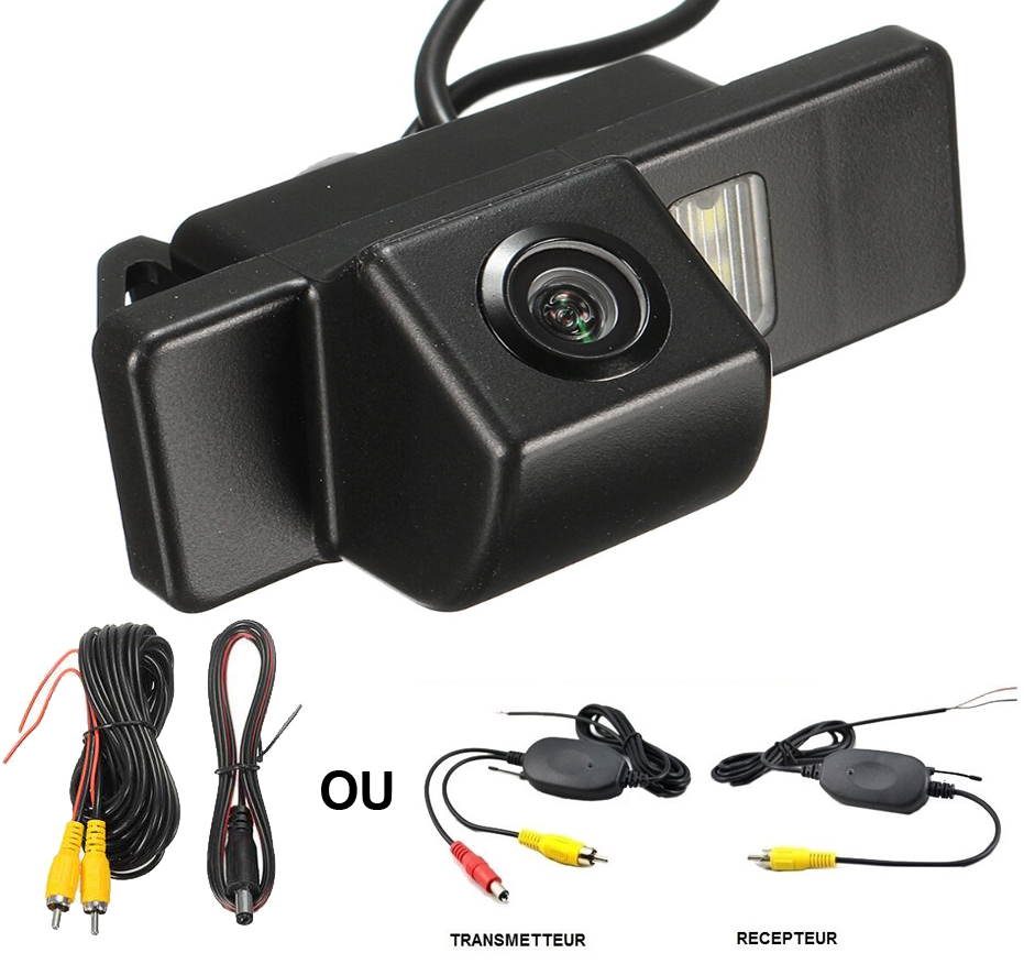 Caméra de recul Citroën C2, Citroën C4 et Citroën C5 - qualité CCD