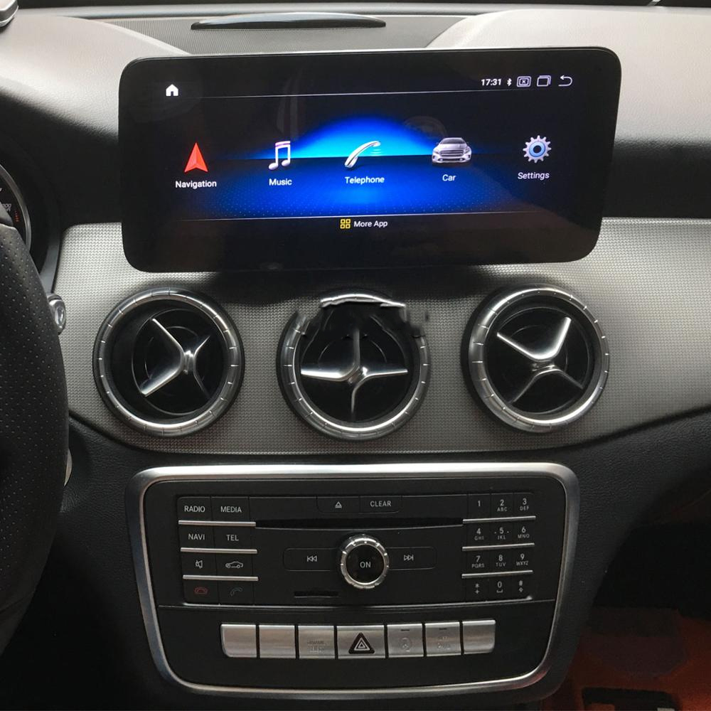 Autoradio tactile Android 10.0 et Apple Carplay Mercedes Classe A et CLA, Mercedes GLA de 2013 à 2019