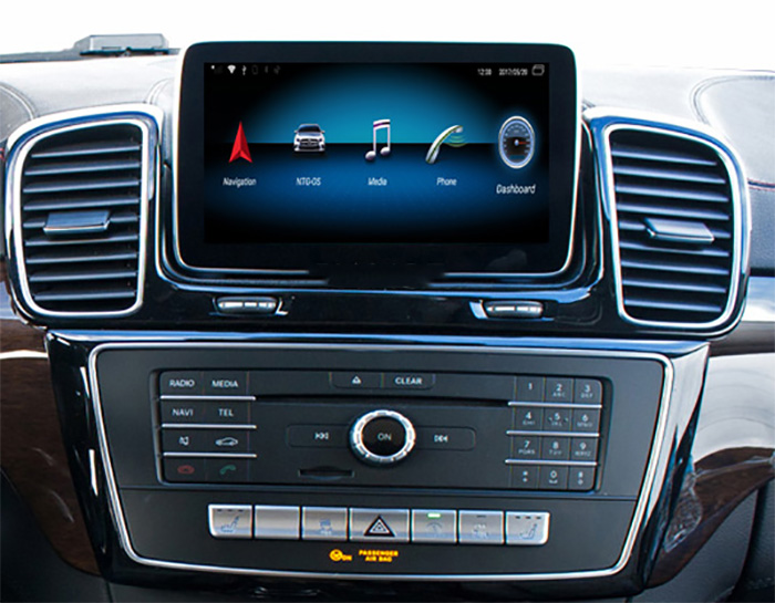 Autoradio tactile Android 10.0 et Apple Carplay Mercedes ML et GL de 2012 à 2015