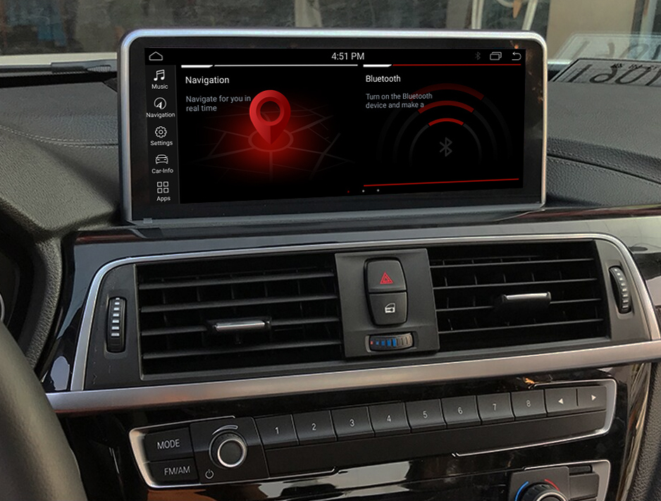 Autoradio tactile Android 10.0 et Apple Carplay BMW Série 2 F23 de 2013 à 2020