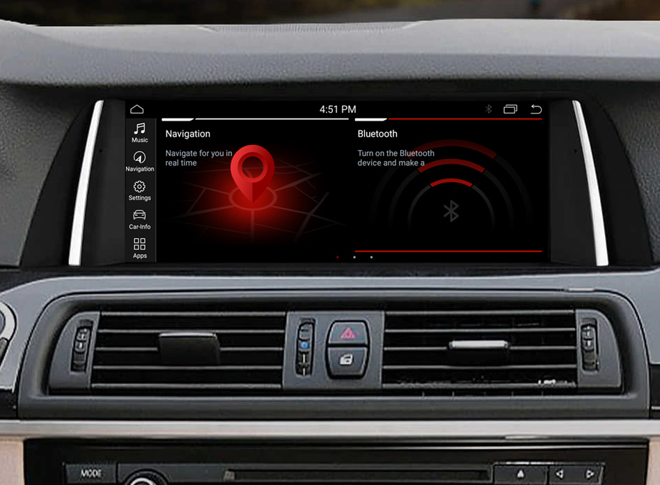 Autoradio tactile Android 10.0 et Apple Carplay BMW X3 F25 et BMW X4 F26 de 2011 à 2017