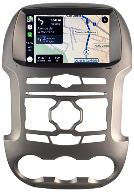 Autoradio tactile GPS Android 10.0 et Bluetooth Ford Ranger de 2012 à 2015