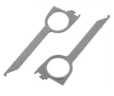 Clefs extractions  - Jeu de 2 clés - Becker / Audi