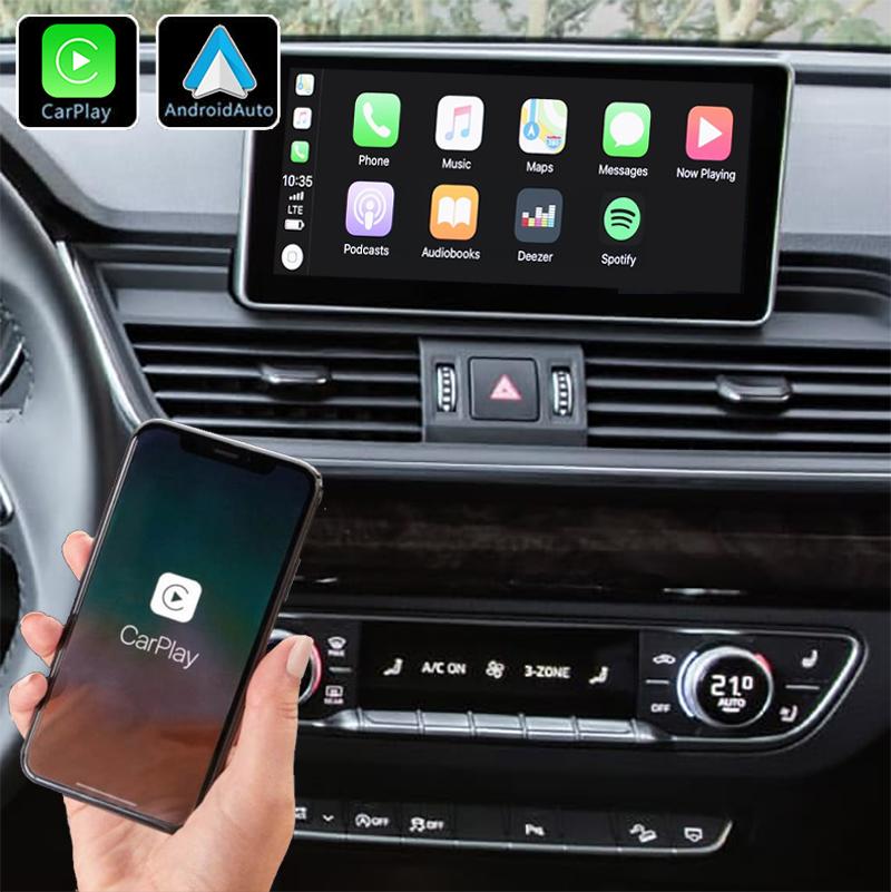 Système Apple Carplay sans fil et Android Auto pour Audi Q5 depuis 2017