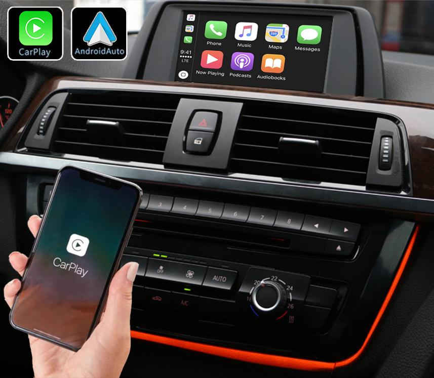 Système Apple Carplay sans fil et Android Auto pour BMW Série 3 F30 et BMW Série 4 de 2012 à 2020