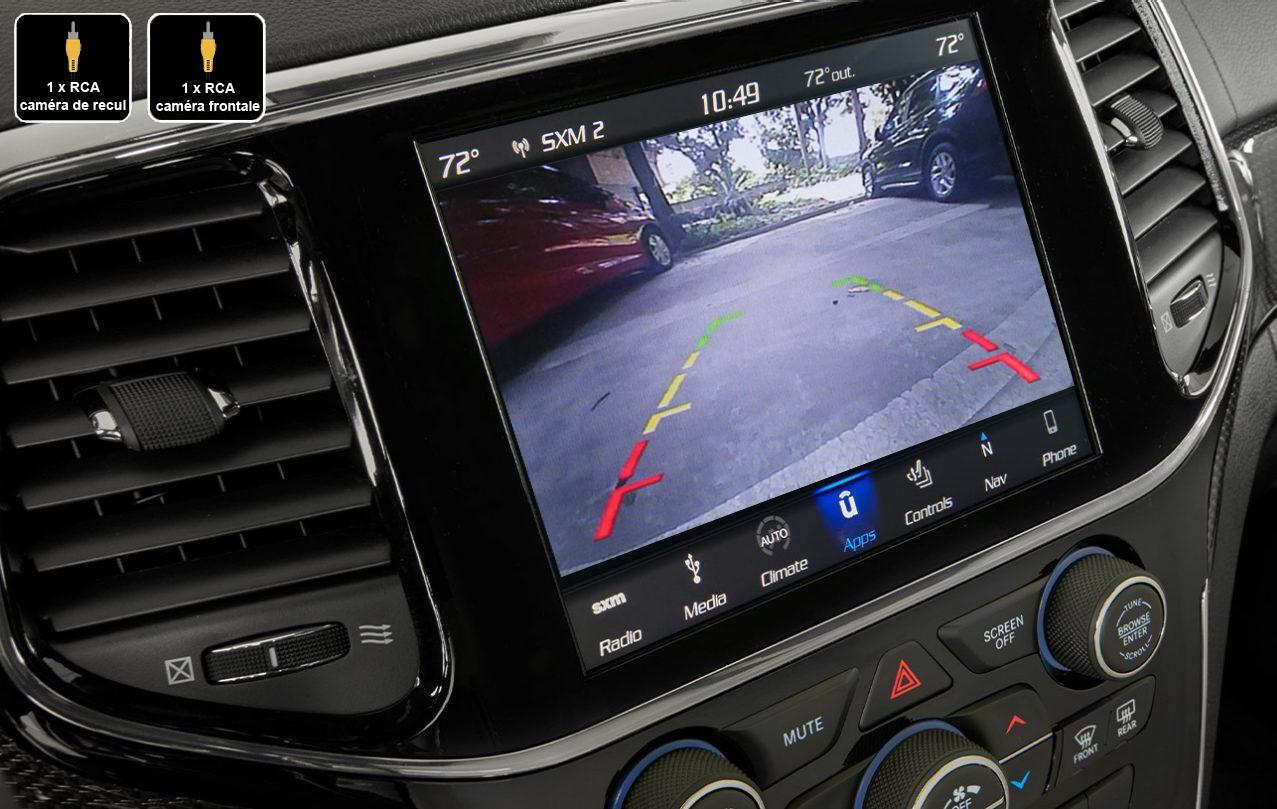 Interface Multimédia vidéo pour caméra compatible Jeep Grand Cherokee depuis 2019