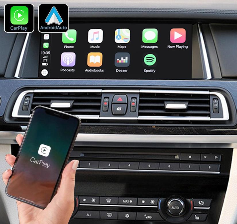 Système Apple Carplay sans fil et Android Auto pour BMW série 7 F01 de 2009 à 2015