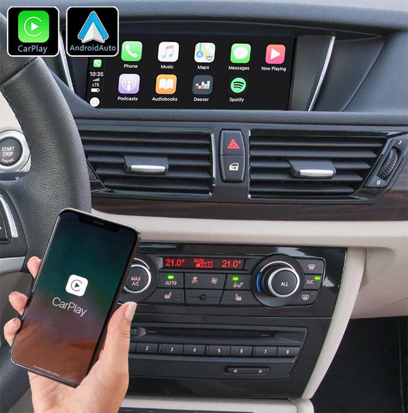 Système Apple Carplay sans fil et Android Auto pour BMW X1 E84 de 2009 à 2015