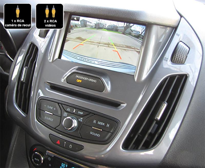 Interface Multimédia vidéo pour caméra compatible Ford Transit Connect et Tourneo Connect de 2013 à 2018