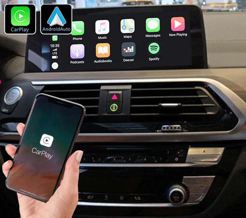 Système Apple Carplay sans fil et Android Auto pour BMW X3 G01 et BMW X4 G02 depuis 2018