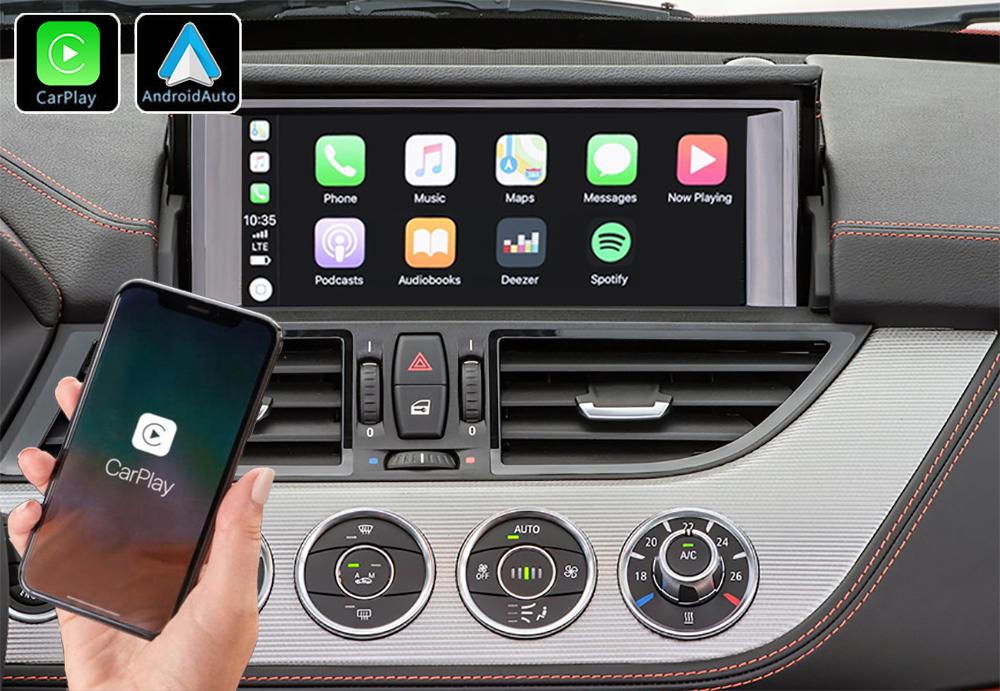 Système Apple Carplay sans fil et Android Auto pour BMW Z4 E89 de 2009 à 2016