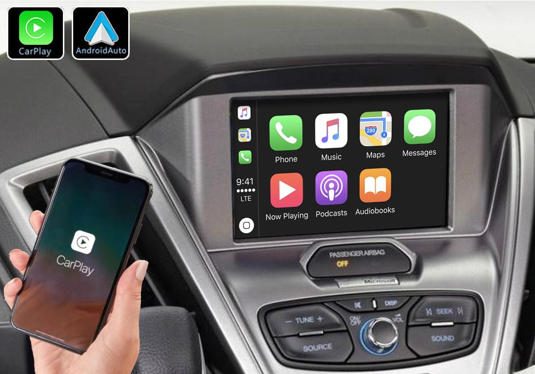 Système Apple Carplay sans fil et Android Auto pour Ford Transit de 2015 à 2018