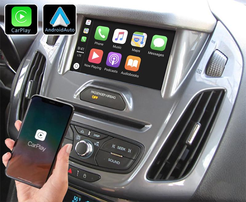Système Apple Carplay sans fil et Android Auto pour Ford Transit Connect et Tourneo Connect de 2013 à 2018
