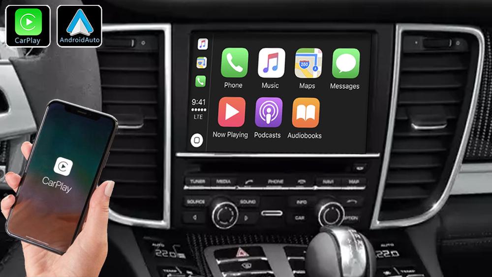 Système Apple Carplay sans fil et Android Auto pour Porsche Panamera de 2009 à 2016