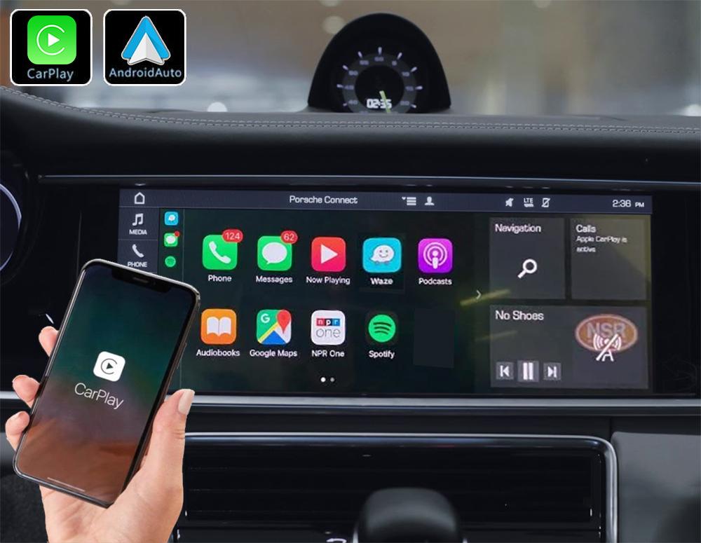 Système Apple Carplay sans fil et Android Auto pour Porsche Panamera à partir de 2018