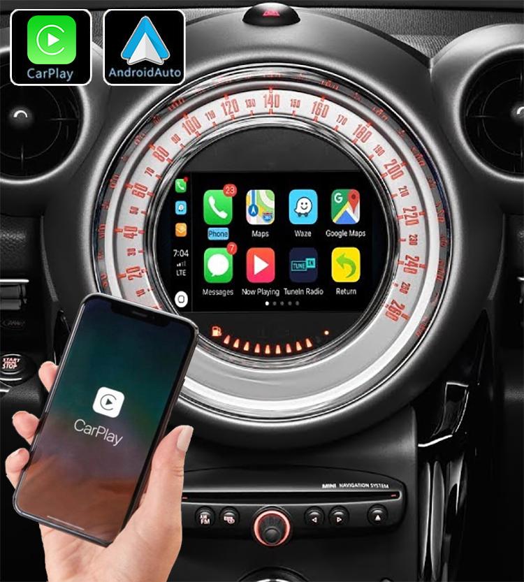 Système Apple Carplay sans fil et Android Auto pour Mini Countryman et Paceman de 2010 à 2014