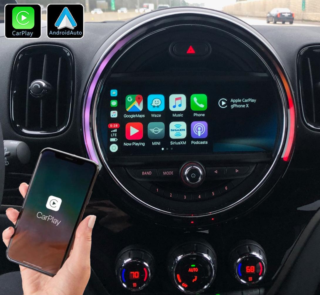 Système Apple Carplay sans fil et Android Auto pour Mini Countryman depuis 2014