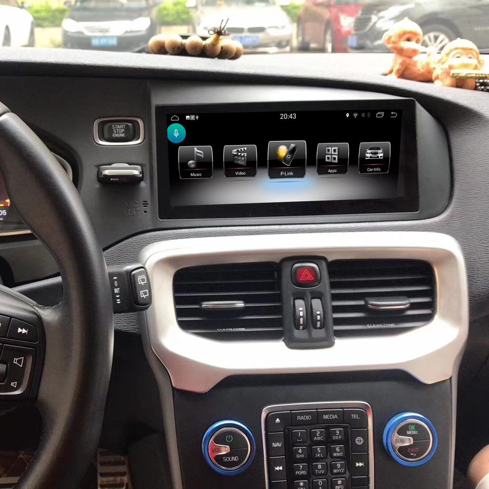 Ecran tactile Android avec Apple Carplay sans fil Volvo V40 de 2012 à 2019