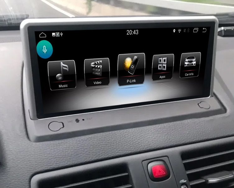 Ecran tactile Android avec Apple Carplay sans fil Volvo XC90 de 2007 à 2014