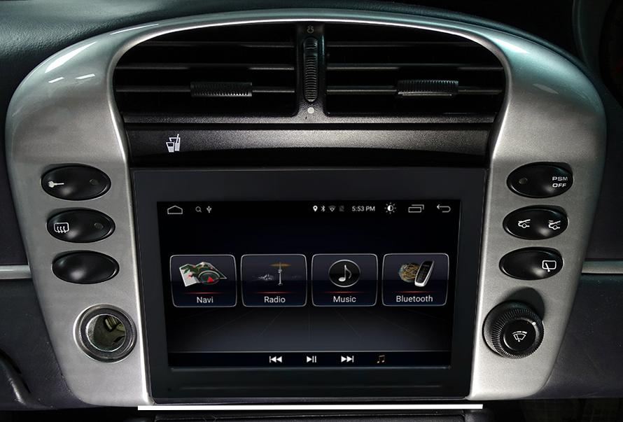 Autoradio tactile GPS Android 10.0 et Apple Carplay Porsche 911 996 de 1996 à 2004