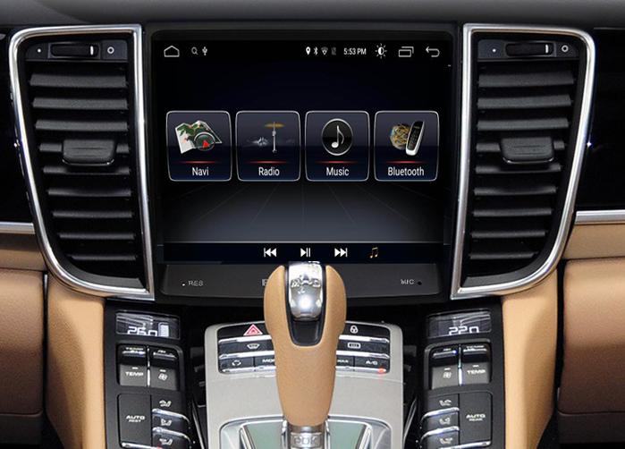 Ecran tactile Android 10.0 avec Apple Carplay Bluetooth Porsche Panamera de 2010 à 2016