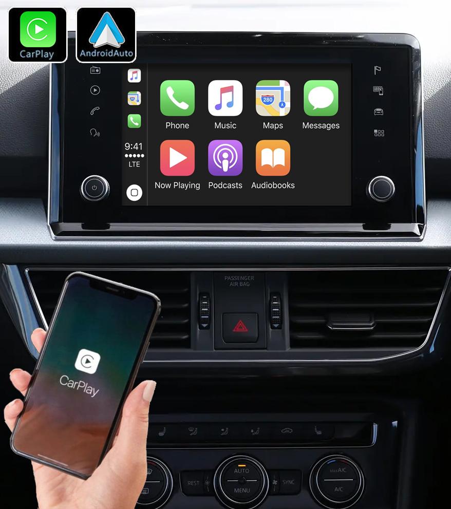 Système Apple Carplay sans fil et Android Auto pour Seat Tarraco depuis 2018