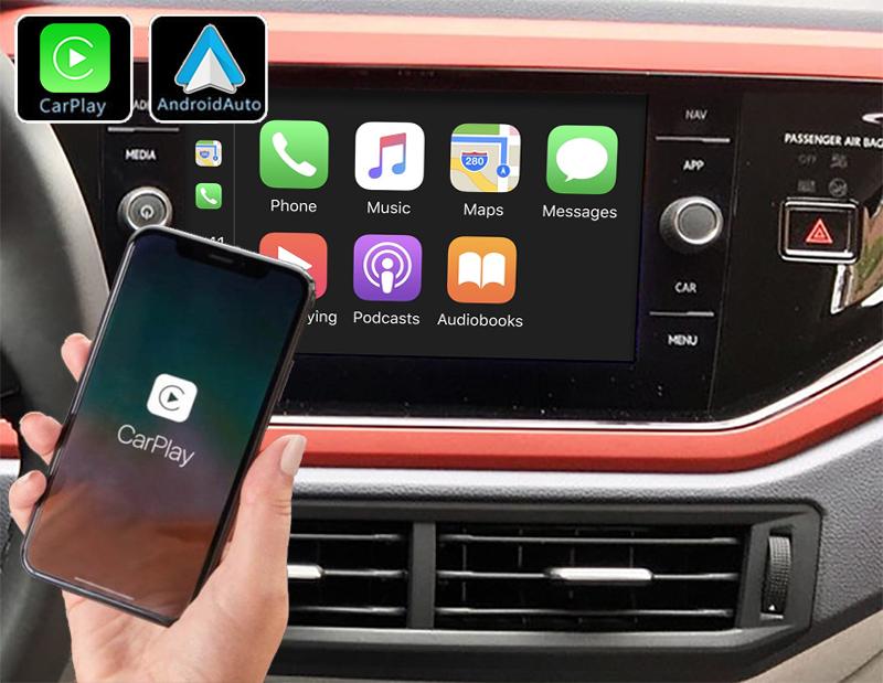 Système Apple Carplay sans fil et Android Auto pour Volkswagen Polo depuis 2017