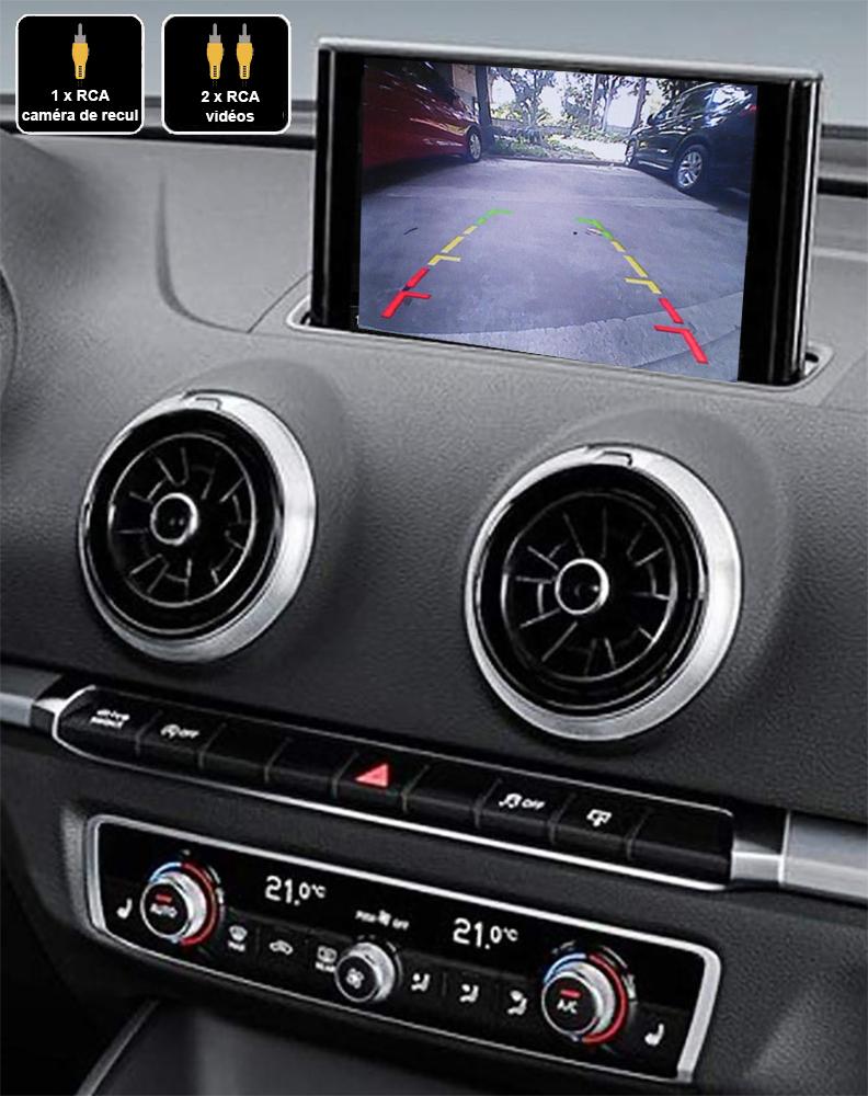 Interface Multimédia vidéo pour caméra compatible Audi A3 de 05/2012 à 2020