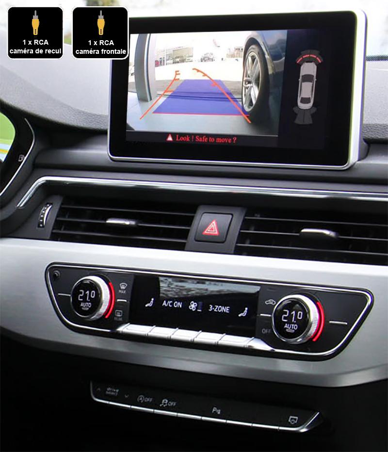 Interface Multimédia vidéo pour caméra de recul Audi A4 et Audi A5 depuis 08/2015