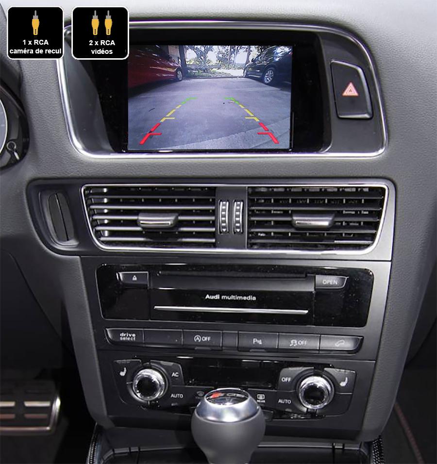 Interface Multimédia vidéo pour caméra compatible Audi Q5 de 2011 à 2016