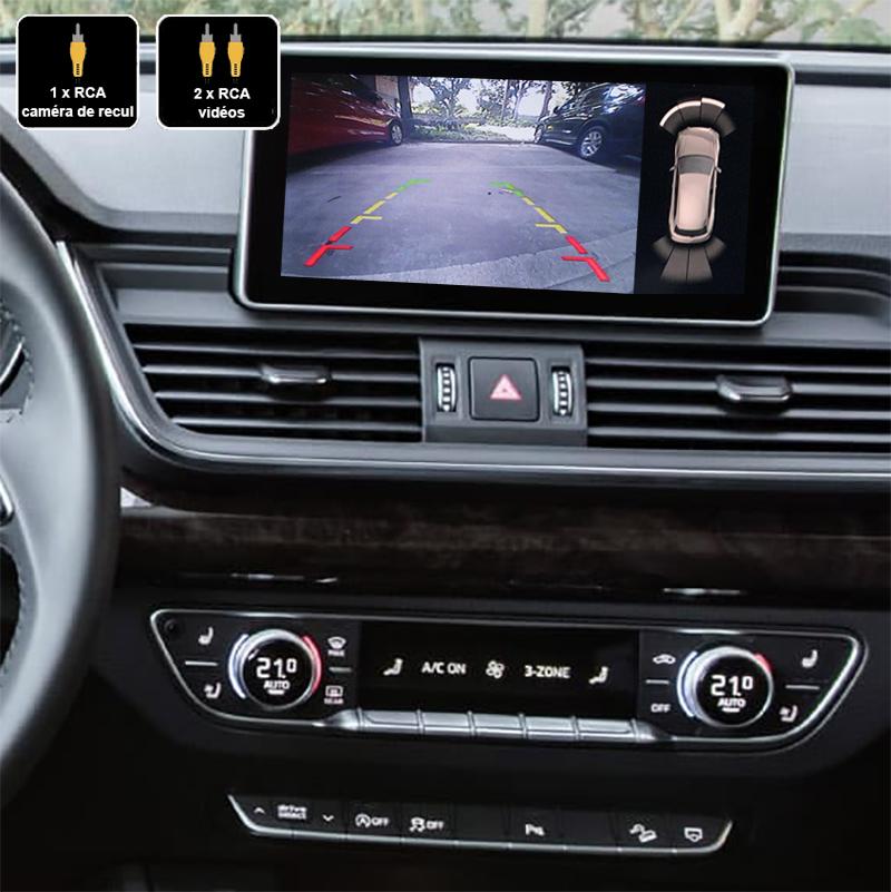 Interface Multimédia vidéo pour caméra compatible Audi Q5 depuis 2017