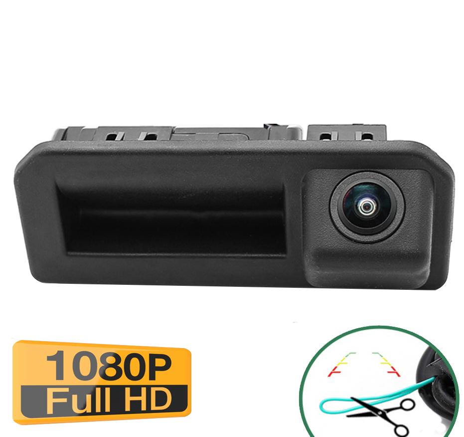 Caméra de recul avec poignet d\'ouverture de coffre Skoda Karoq - qualité Full HD 1080P