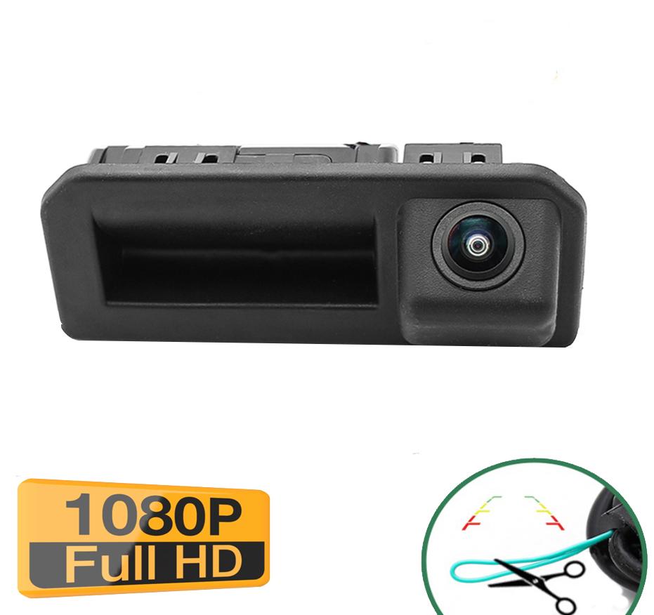 Caméra de recul avec ouverture du coffre pour Skoda Kodiaq de 2017 à 2018 - qualité Full HD 1080P