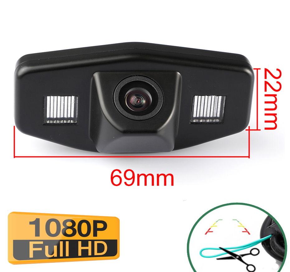 Caméra de recul Honda Odyssey Accord Civic- qualité Full HD 1080P