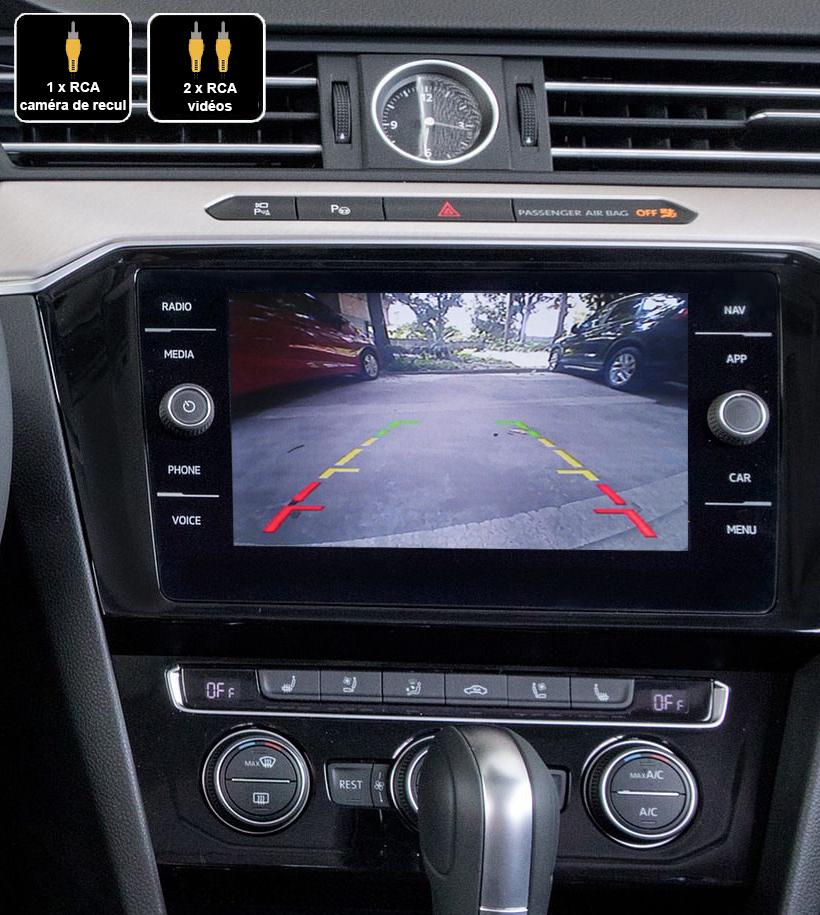 Interface Multimédia vidéo pour caméra compatible Volkswagen Arteon depuis 2018