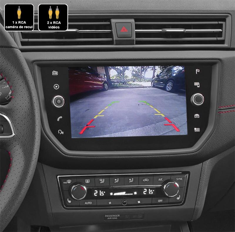 Interface Multimédia vidéo pour caméra compatible Seat Ibiza et Arona depuis 2016