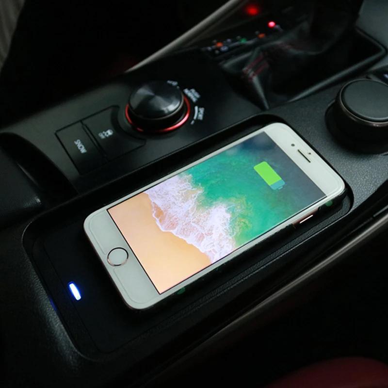 Chargeur à induction 10W iPhone, Xiaomi, Huawei et Samsung pour Lexus IS-300 depuis 2018